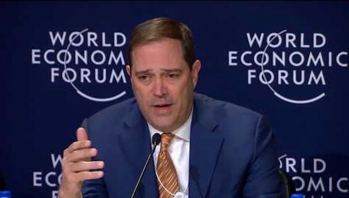Davos 2018 Press Conference: 1 Million Workers Targeted in Tech-Reskilling Drive
